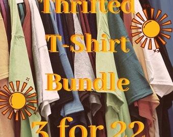Trendy Thrifted T-Shirt Surprise Bundle