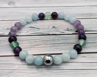 Bracelet of Calmness - For Anxiety, Worry or Stress - includes with EFT Tapping Therapy script
