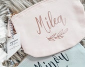 Personalized cosmetic pouch - for your best friend / gift / bag / cosmetic pouch / birthday / groomswoman
