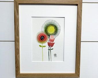 Corona Bloom No.54 Framed