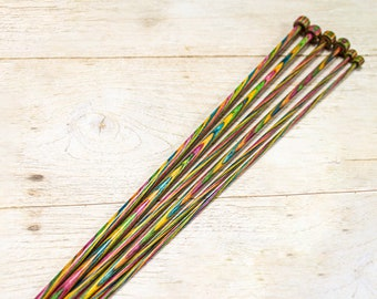 GIANT 40mm knitting needles Hand crafted beech wood wax sealed knitting needles crochet  hooks easter for birthday gifts for mum and grandma