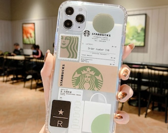Coffee Case iPhone 13 Pro Max iPhone 11 iPhone xr iPhone xs max iPhone 7 plus 8 plus iPhone se2 iPhone 12 iPhone 13 Clear Case