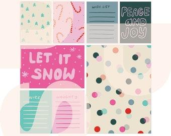 Peace and Joy | printable card set