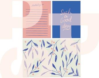 Good Day | printable card set