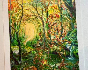 Holy well ( large giclee)