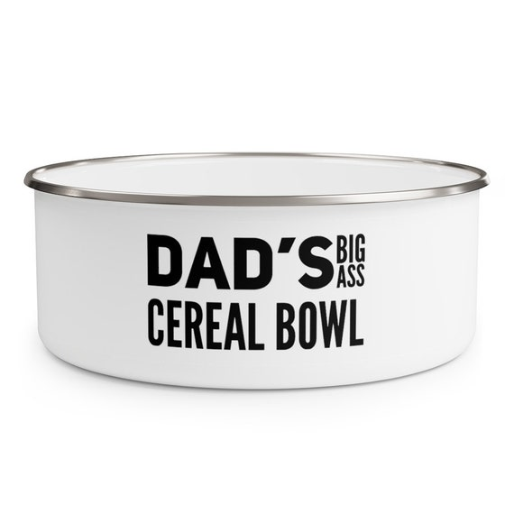 Hip Dad Bowls Father/'s Day Cereal Bowl