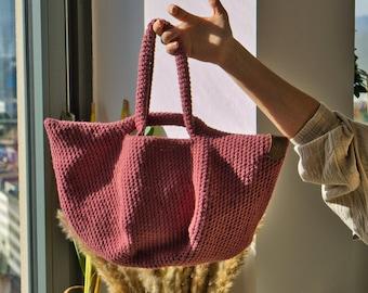 Japanese crochet knot bag   Handmade bag