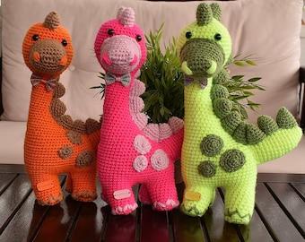 Crochet Dinosaur (Dino)