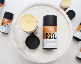 PAW BALM for dogs and cats. 100% Natural & Organic. Paw balm/Nose balm/Belly balm.