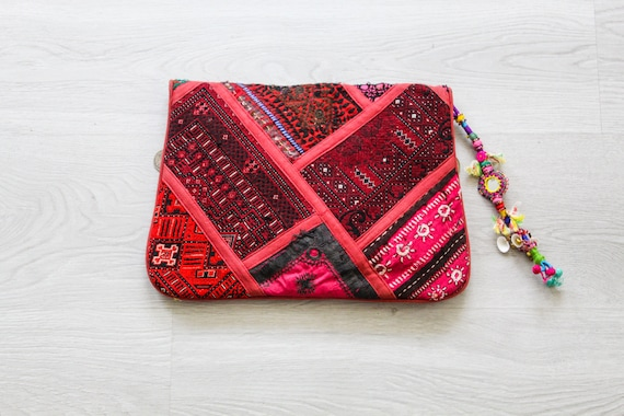 Indian Patchwork Purse - image 2