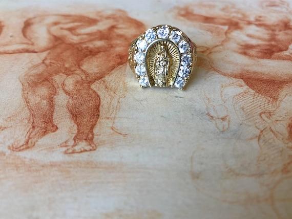 10K Diamanté Madonna Ring