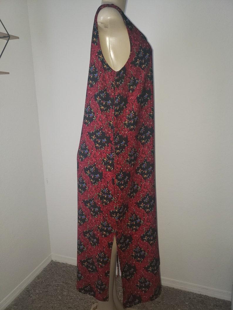 90/'s Floral R/&K Original Petite  dress