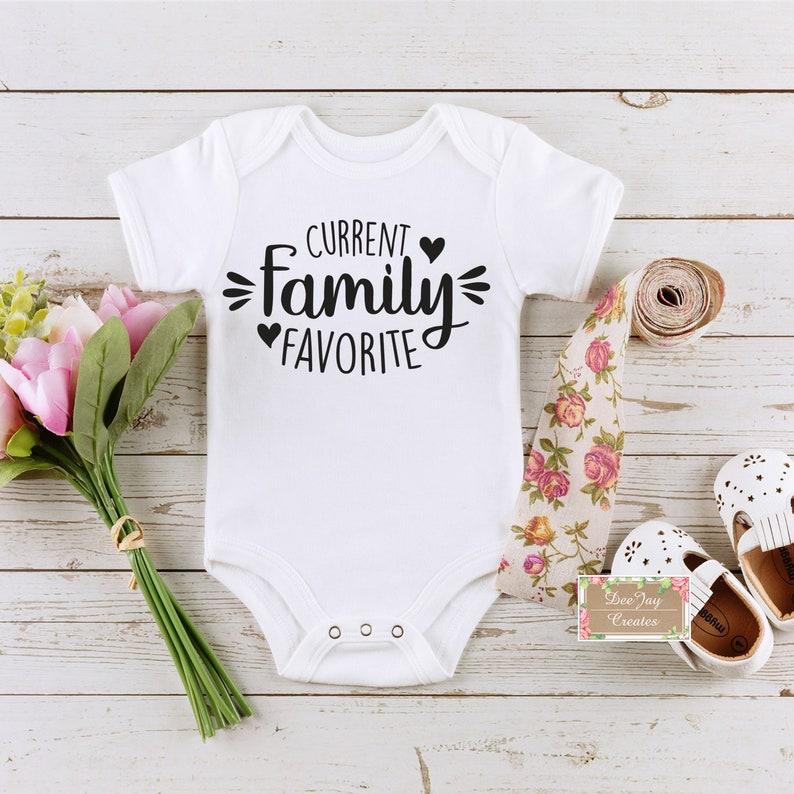 Gift for Baby Take Home Onesie Inspirational Quotes Baby Onesie Onesie for boys Surprise Baby Family Favorite Onesie for girlsC