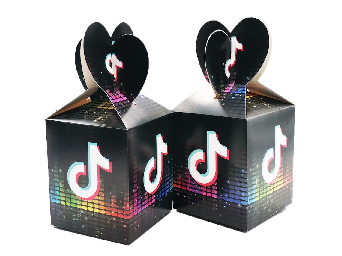 TikTok Birthday Party Supplies Set-Tiktok Gift Boxes TikTok image 0