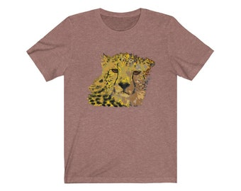 Colorful Cheetah Unisex Tee