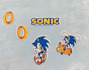 Sonic Vinyl Sticker Etsy