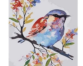 Animals Birds Painting By Numbers Kits Includes Paints Brush Board 40 Designs