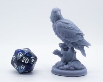 Falcon - Miniature - Tabletop - Collectable - Figure - Ready to Paint