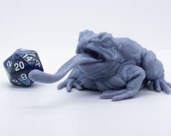 The Giant Toad - Miniature - Tabletop - Collectable