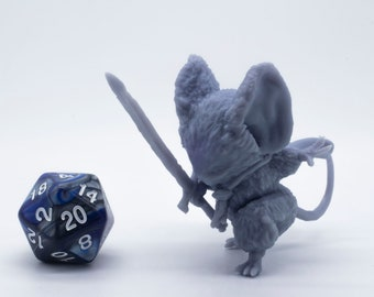 Guardian Mice - The Sword Mouse - Miniature - Tabletop - Collectable