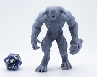 Hell Knight - Miniature - Tabletop - Collectable