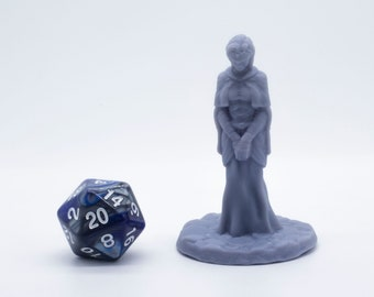 The Flame Keeper - Miniature - DND - Tabletop