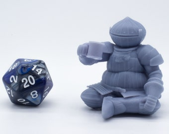 The Onion Knight - Miniature - Tabletop - Collectable - Figure - RPG