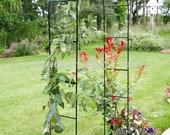 Vintage Retro Heavy Duty Metal Garden Decor Arch Bridge Strong Tubular Rose Climbing Plants Archway Wedding Decor