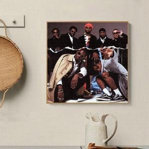 Too Cozy Album Cover Poster Giclée 2 ASAP Mob Cozy Tapes Vol