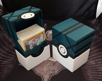 Pokemon Net Ball Deck Box with Magnetic locking!