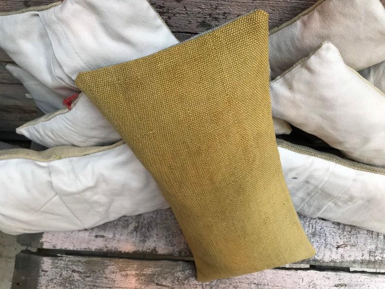 Vintage Turkish  Rectangular Handwoven  Wool kilim Pillowcase iconic pillow