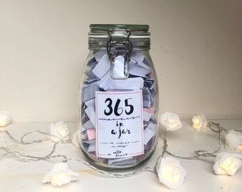 365 Jar Etsy