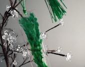 Green Resin Bookmark