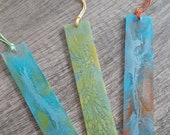 Marble Effect Resin Bookmarks