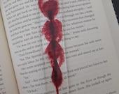 Blood Splatter Resin Bookmarks