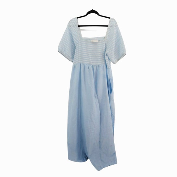 Vintage Givenchy Intimates Dress Size Medium Blue