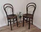 Chairs Vintage Thonet Bentwood Chairs bistro