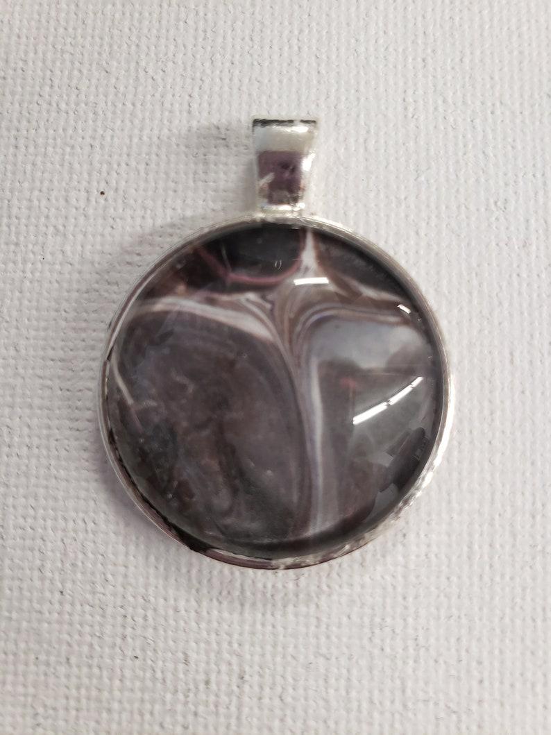 Grey Pendant