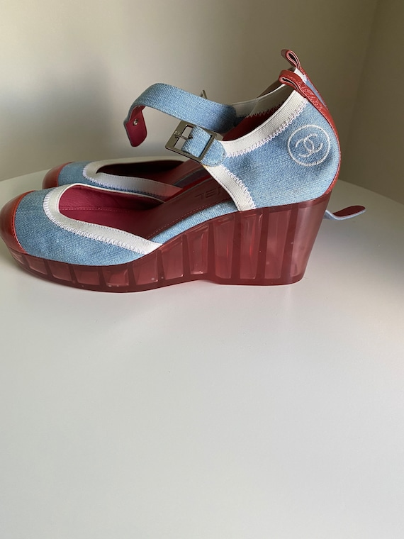 90's NEW Chanel shoes