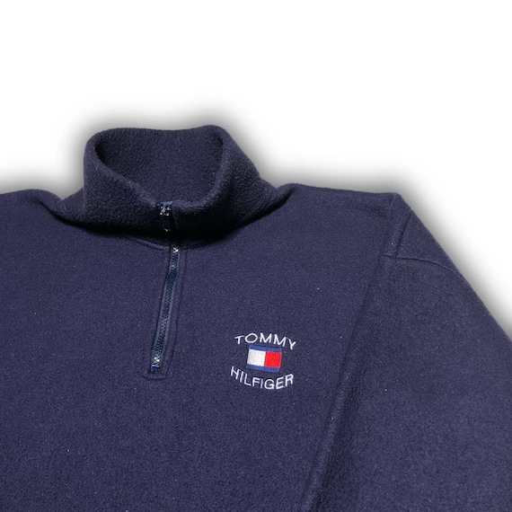 VINTAGE TOMMY HILFIGER Quarter-Zip Fleece