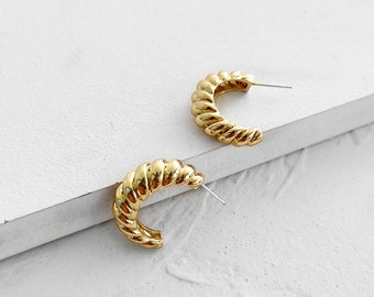 Parisian Nights Gold Earrings