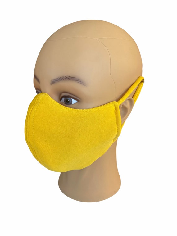 Face Mask Extra Large Adult Sizes, Summer Travel Outfit, Full Face Coverage, Has Filter Pocket, Washable, Breathable Fabric, Reusable