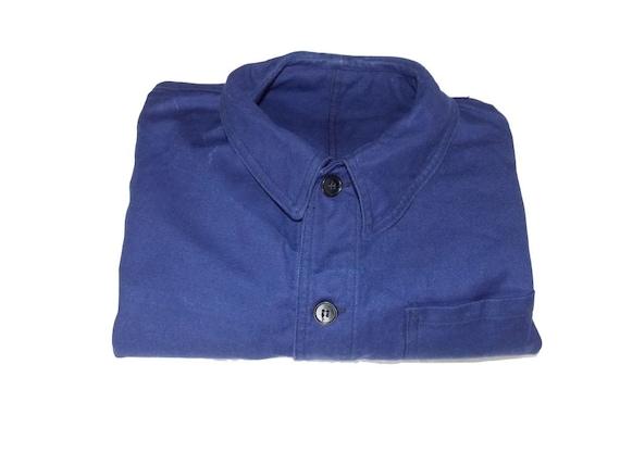 SNC St James Unworn size M-L blue work jacket Fren