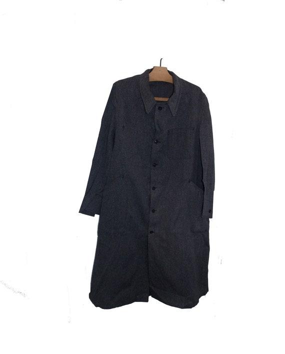 Unworn 50's Biaude maquignon long coat jacket wor… - image 2