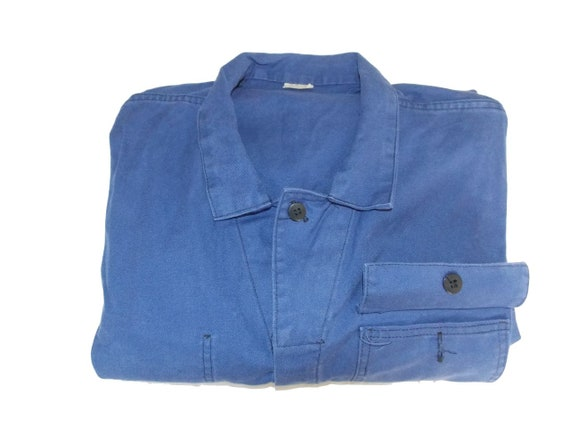 Made in France combination L blue French worker wo