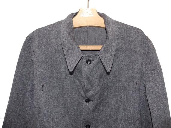 Unworn 50's Biaude maquignon long coat jacket work