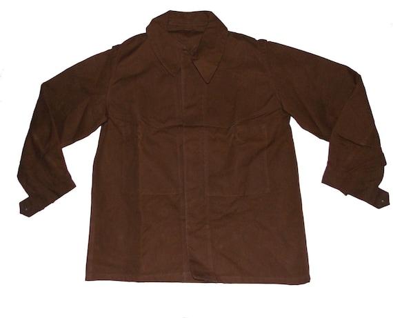 Unworn brown moleskin L-XL jacket jacket jacket Fr