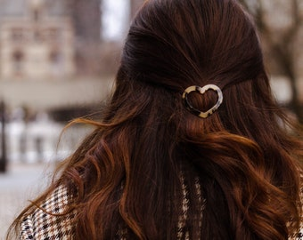 Heart Hair Grips