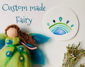 Bespoke wool fairy - custom made order