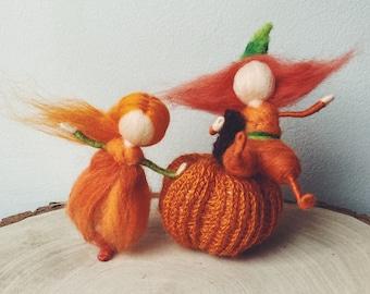 Little Sprite - Autumn/Halloween fairy